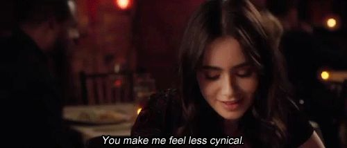 lilly collins stuck in love gif