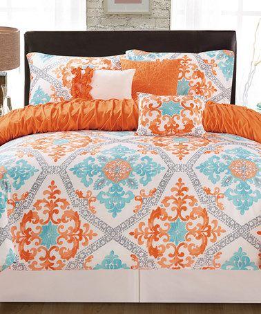 Best 25 Orange Bedding Ideas On Pinterest