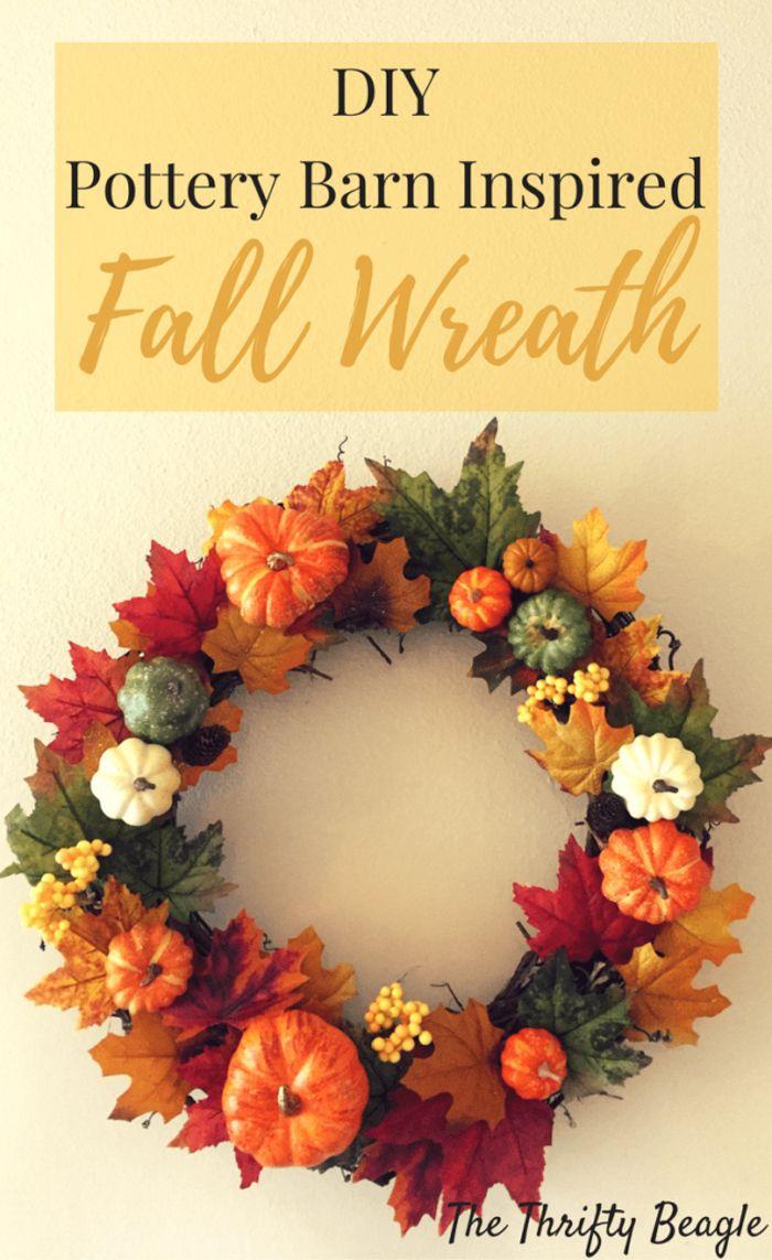 Wreaths Garlands Pottery Barn Fall Grapevine Wreaths Pumpkin Wreath Front Door Fall Decor