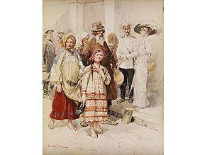 Russischer Maler des beginnenden 20. Jahrhunderts