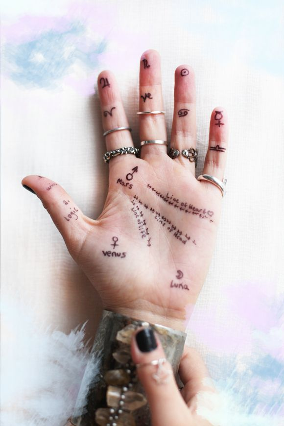 What your hands say about you. I have Earth hands, creativity, energy, short attention span, strength, and I fall in love easily.