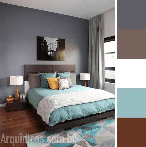 Aprenda a escolher as cores para quarto, saiba quais são as cores ideais para te ajudar a dormir e ainda confira uma galeria com 49 fotos com paleta de cor!