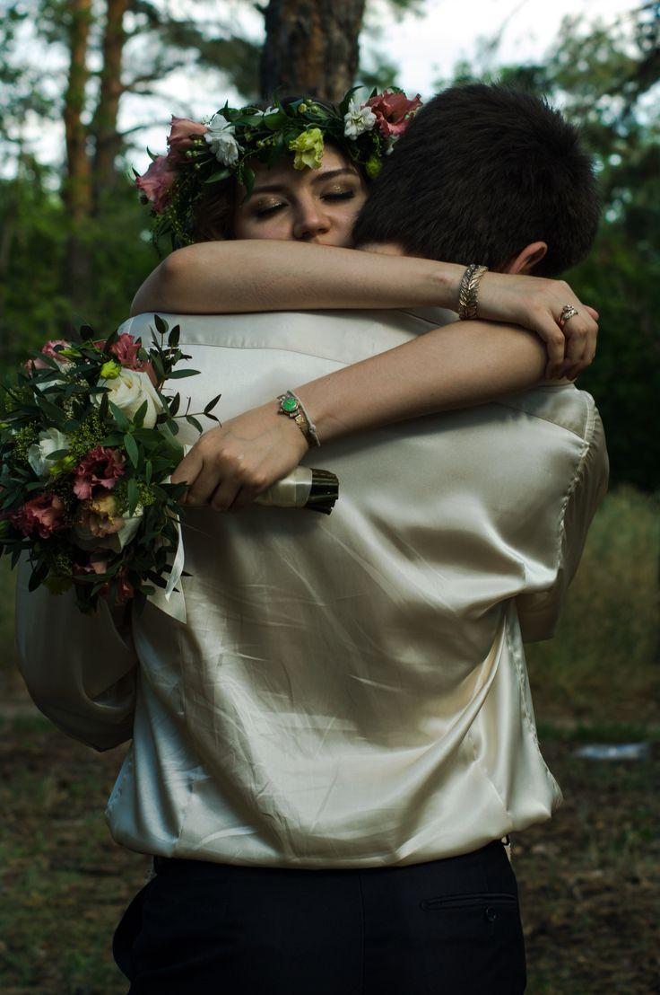 Wedding in forest. Karina & Renat
