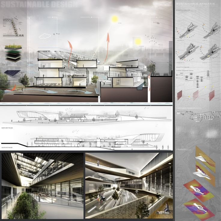 Best Dia Images On   Architecture Presentation Board