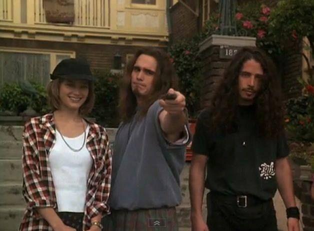 "Bridget Fonda, Matt Dillon and Chris Cornell from the movie ""Singles"""