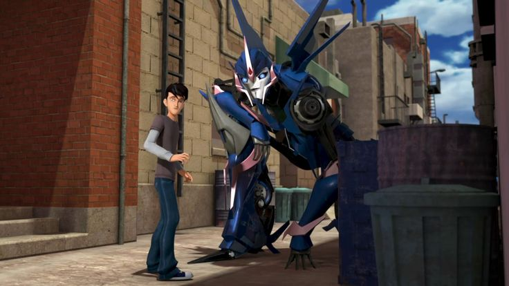 tfp transformers prime jack darby arcee 1x1 Darkness Rising pt1