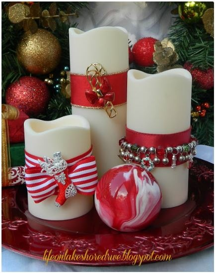 Christmas Jewelry Candles