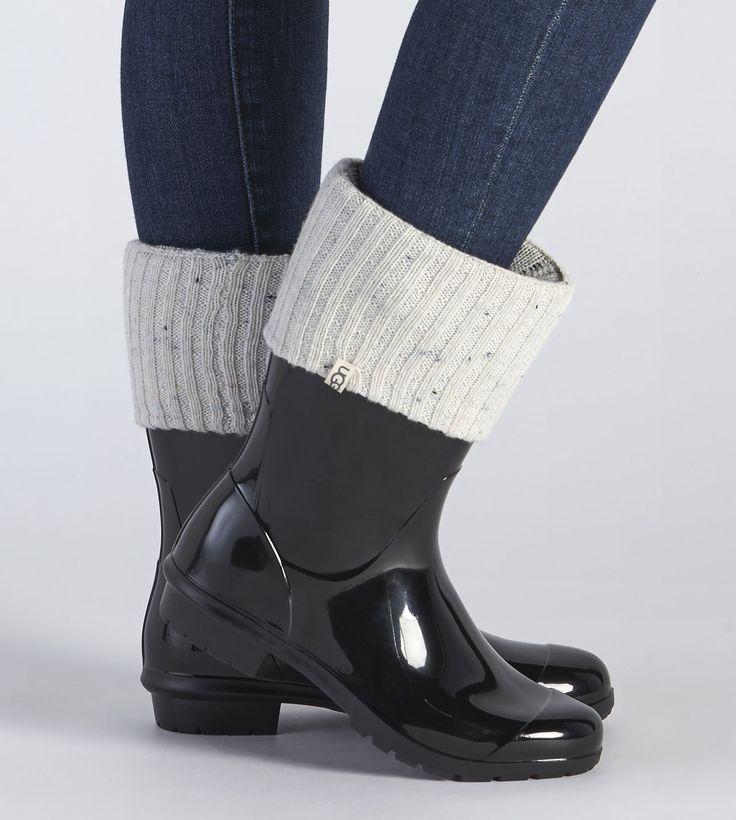 UGG® Official | Women's Sienna Short Rain Boot Sock | UGG.com