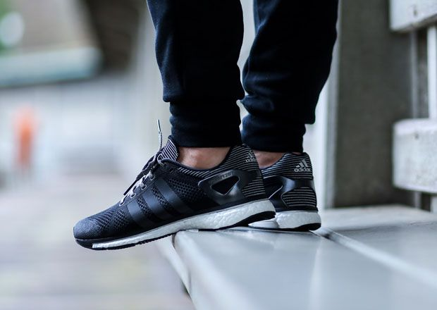 #adidas Consortium adiZero PrimeKnit Boost - Black/White #sneakers