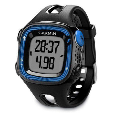 Garmin Forerunner 15 GPS Running Watch, Black/Blue