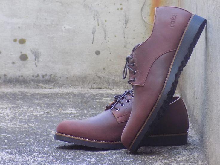 mr doubelmen footwear dark brown shoes lace up with flat shoes #mrdoubelmenfootwearhandmade #PlatformShoes #Casual