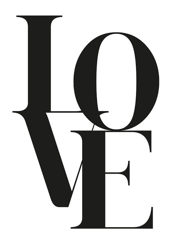 Love Poster Love Wall Art Love Print Printable Art By FroileinJuno