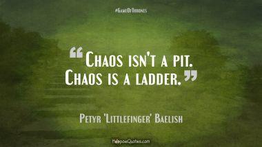 "Petyr ""Littlefinger"" Baelish Quotes"