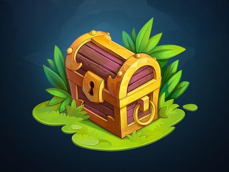 Treasure Chest  by NestStrix - Dribbble