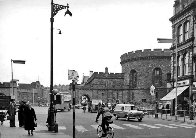 1950's Botchergate in Carlisle city centre - geograph.org.uk - 1731484 - Carlisle, Cumbria - Wikipedia, the free encyclopedia