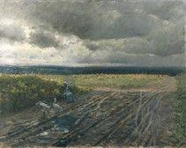 Giuseppe De Nittis La guardiana di oche, 1884 Olio su tela, cm. 65x81 Parigi, Petit Palais, Musée des Beaux Arts de la Ville de Paris