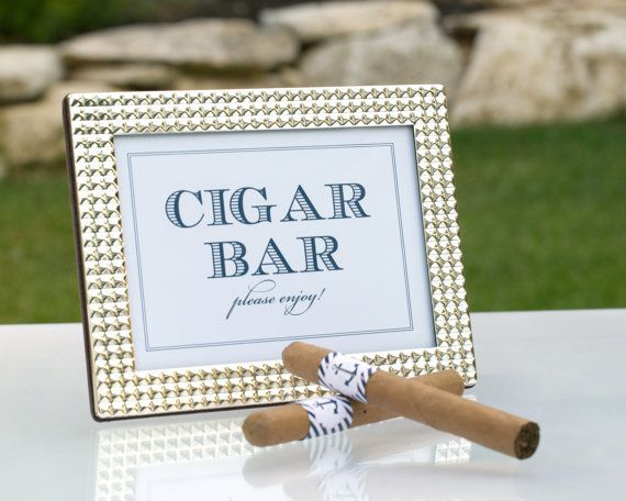 Throw a Havana-Themed Bash That Everyone Can Enjoy || Table Signs