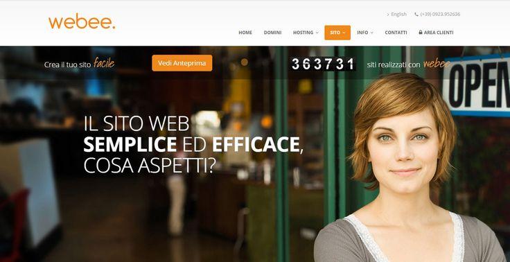 Webee. Il sito semplice ed efficace