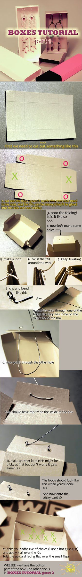 Tutorial - jewelry boxes part 1 by ~IMNIUM on deviantART (part 2…