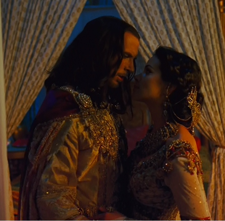 Tiffany Dupont and Luke Goss as Esther and Xerxes in One Night With the King, the story of queen esther. this was a good movie, even if it wasn't historically accurate at all times, and the love story was very sweet and the part when Esther goes to the king unsummoned was very beautiful. :)
