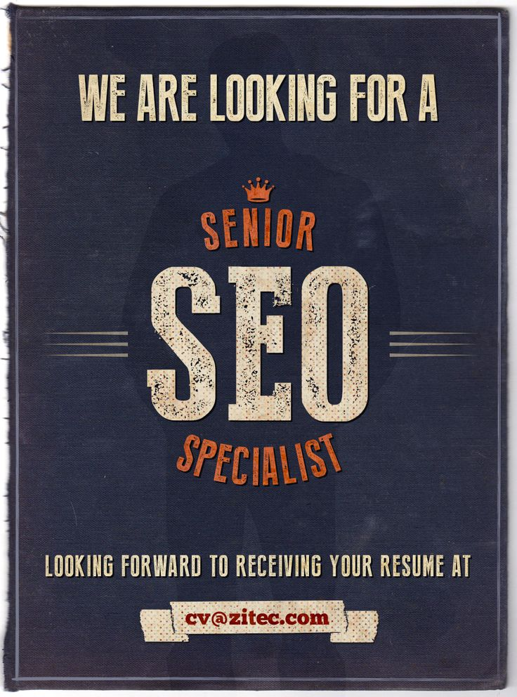 We're looking for a new #SEO specialist to join our #onlinemarketing team: http://zit.ec/SeniorSEO  If you speak SEO, take a look at our #careers page and send us your resume or help us spread the news!