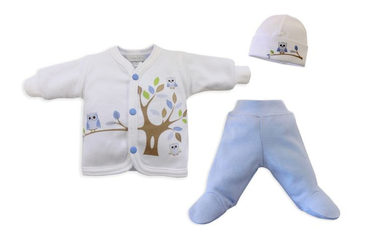 Blue Spring Time Friends print with matching jacket, pants and hat.
