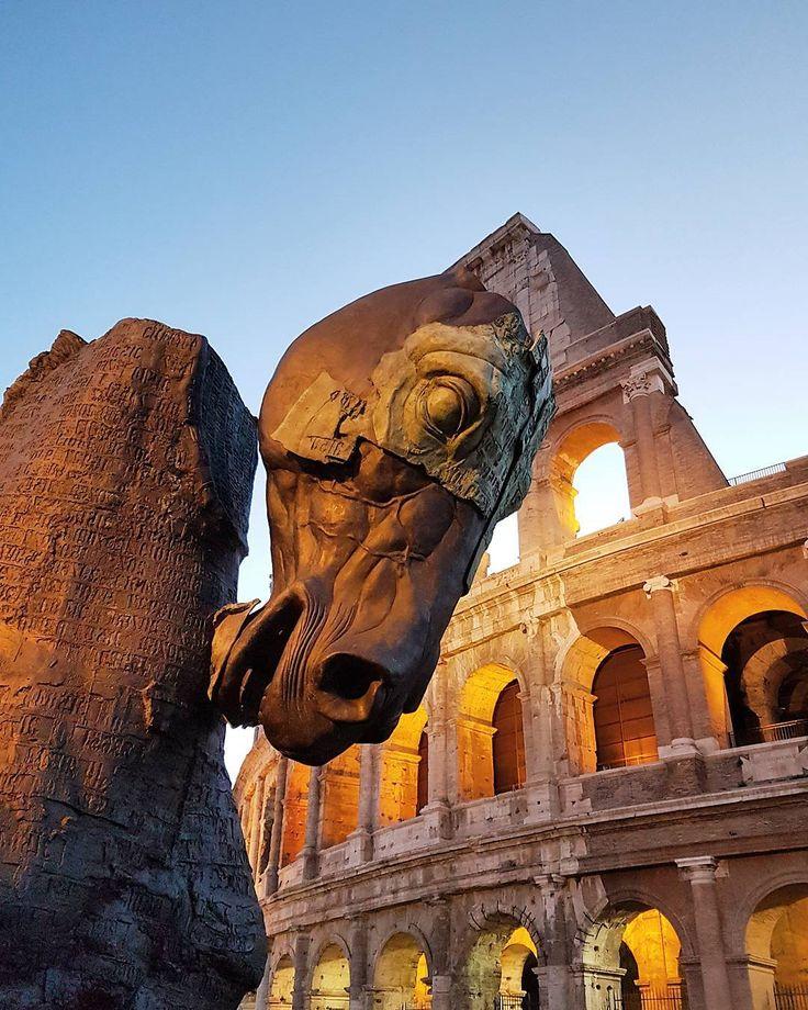 Il Lapidarium di cavalli mutilati di Gustavo Aceves @lapidarium_gustavo_aceves