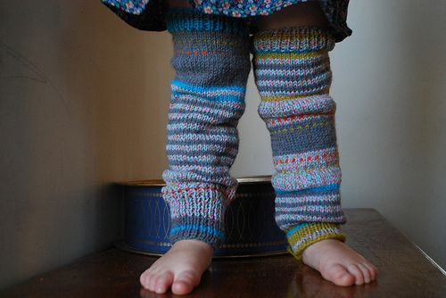 made by me: scenester legwarmers from Boho Baby Knits  (BabywearKnittery on ravelry for yarn info)
