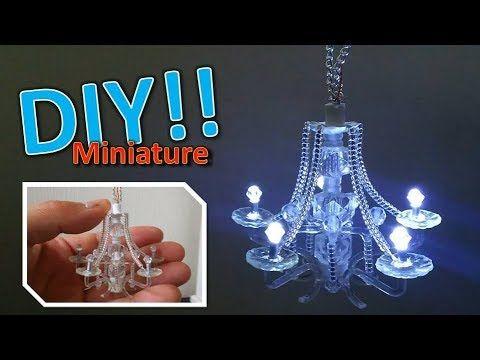 tutorial: miniature (working) chandelier