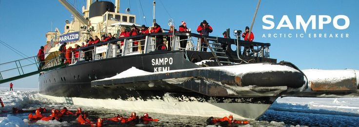 Sampo Ice breaker -cruises, Safartica, Lapland