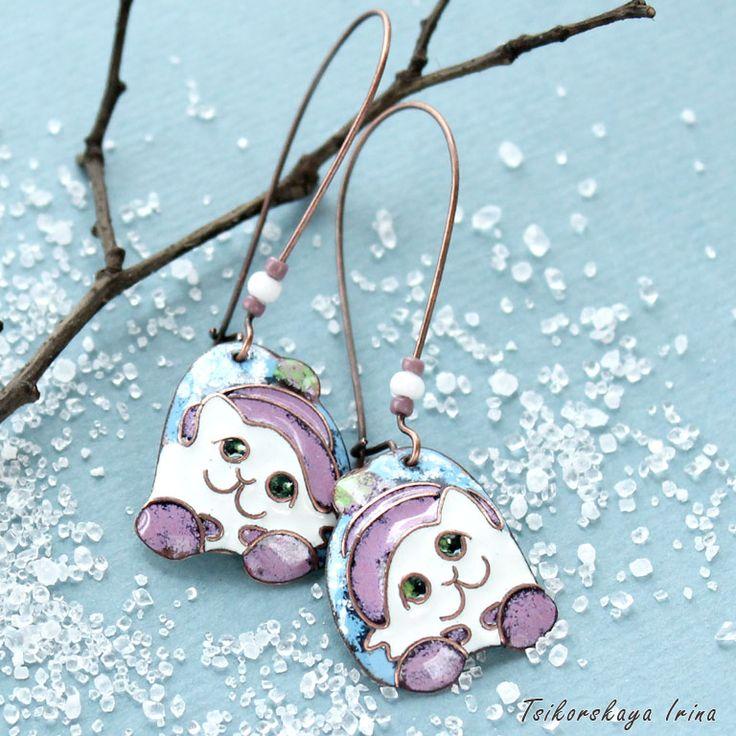 Новый год на Sees-All-Colors: Зимние украшения Ирины Цикорской