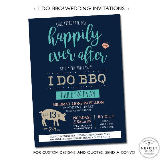top 25+ best casual wedding invitations ideas on pinterest, Wedding invitations