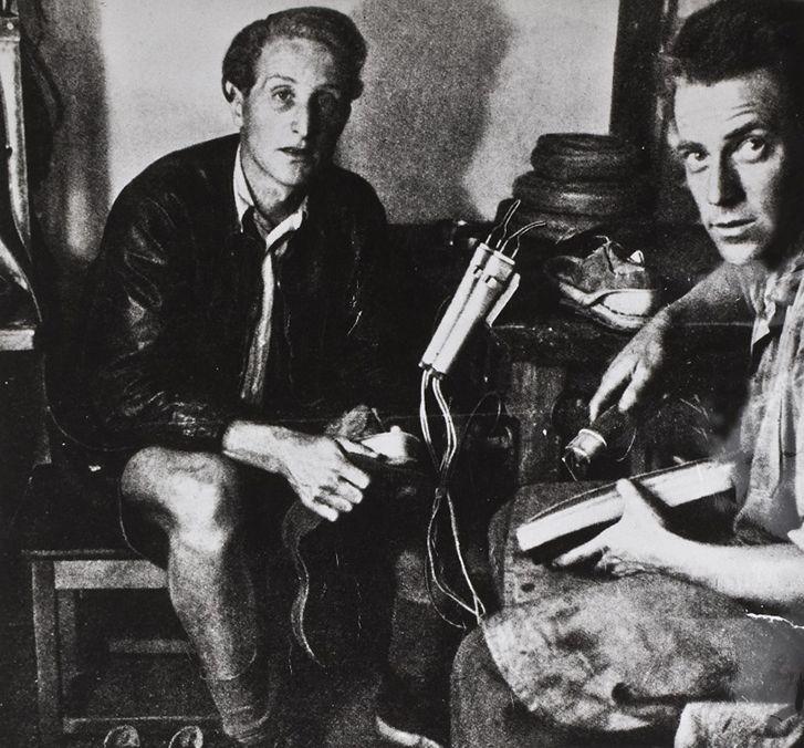 Dr Klaus Märtens (left) and his business partner Herbert Funck