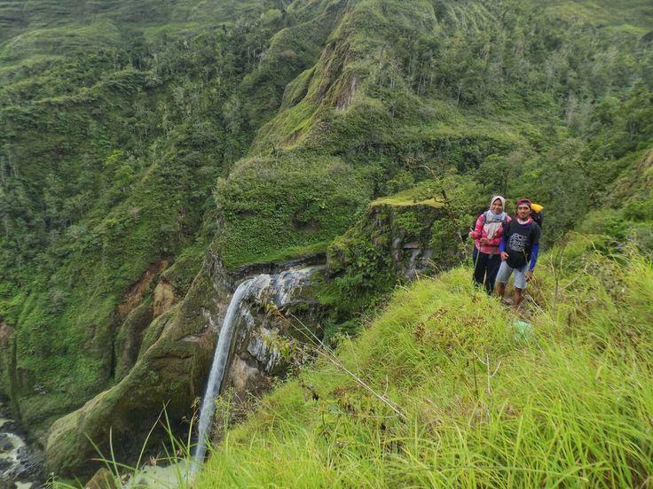 Jalur Torean merupakan sisi lain dari Gunung Rinjani