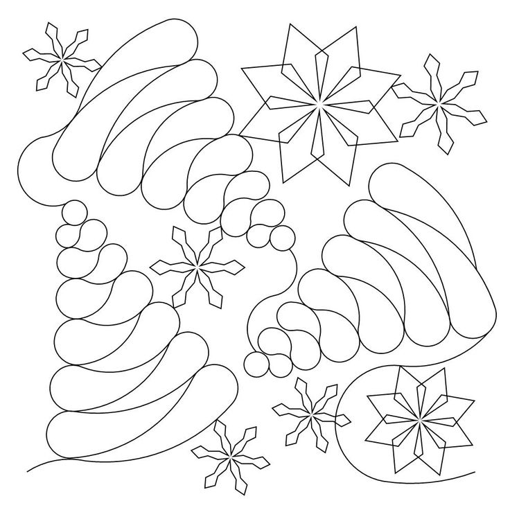 1886 best christmas motifs images on Pinterest Free motion quilting, Longarm quilting and ...