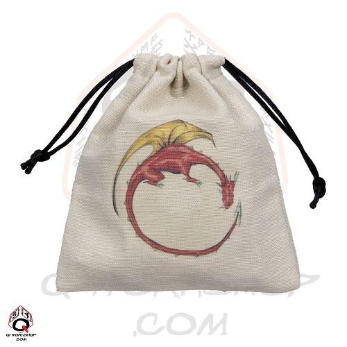 Dragon Colourful dice bag