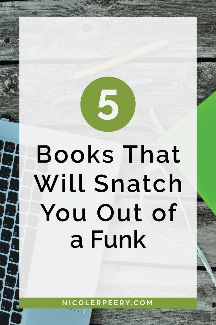What do you do when you feel totally uninspired? One thing that helps me is sitting down with a great book. Click through for a list of my five favorite funk busting books. via @nicolerpeery
