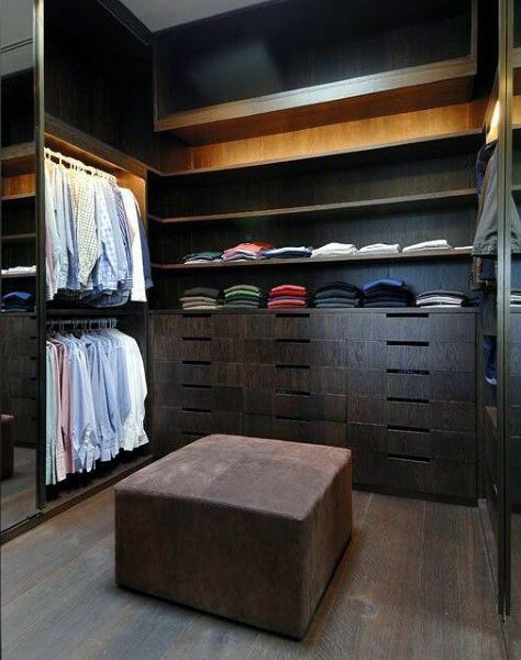 Top 100 best closet designs for men part two other - Mens walk in closet ...