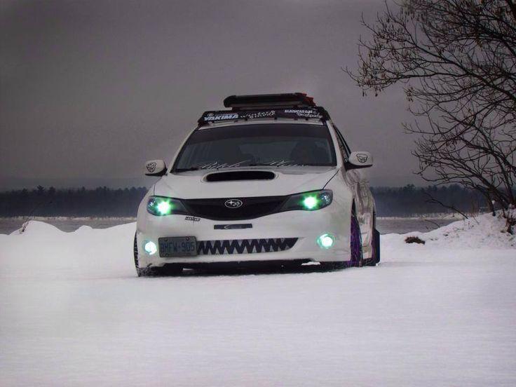 Abominable snow monster. Teeth!