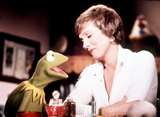 Julie Andrews and Henson Puppets - in the earlier days with Kermit the Frog - The New York Times