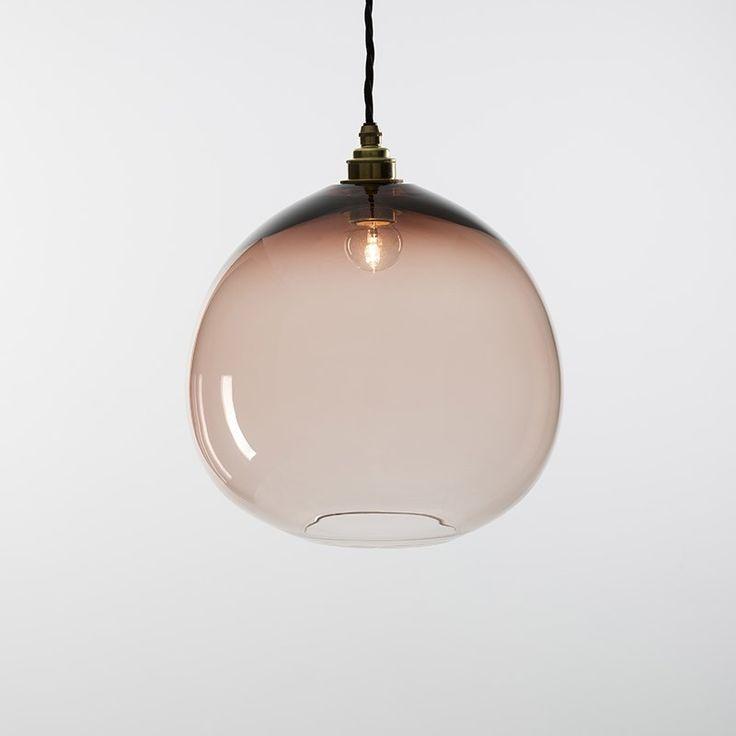 Dome Pendant Lamp Tea Large