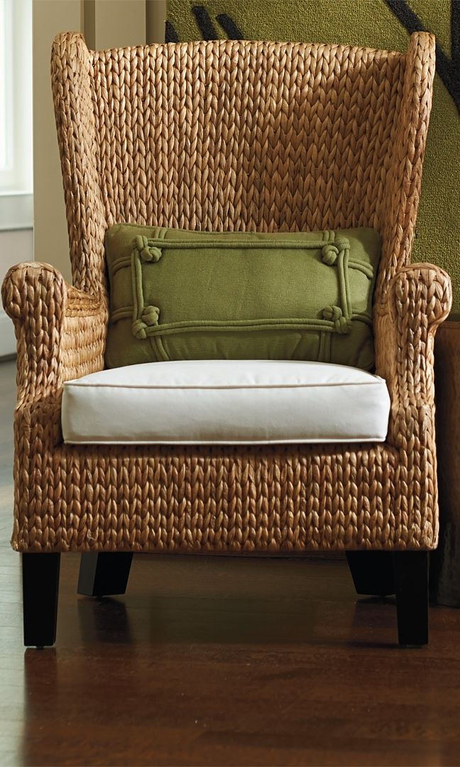 Santino Wing Chair And Ottoman A Well Beautiful And