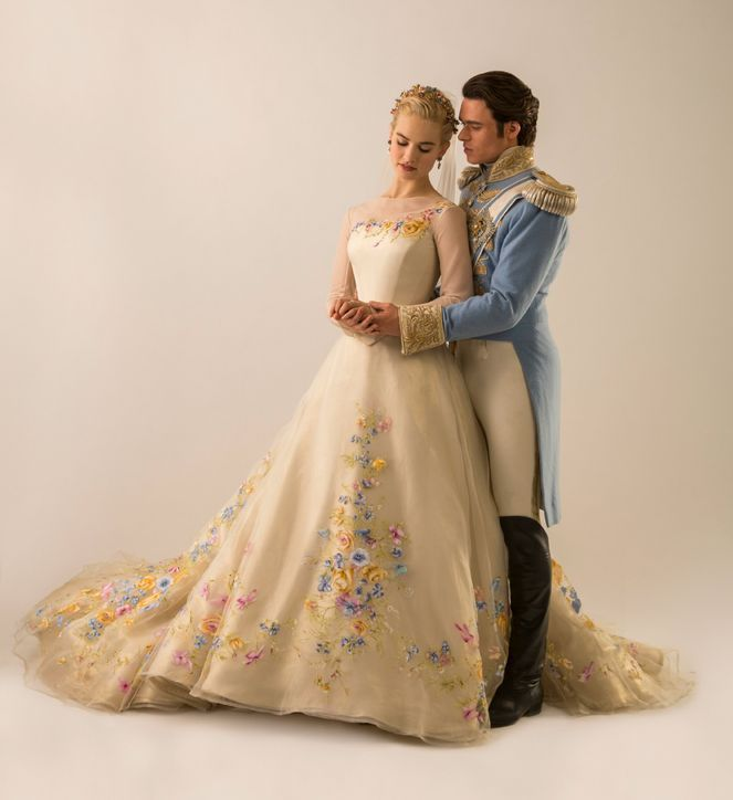 Cinderella's wedding dress <3