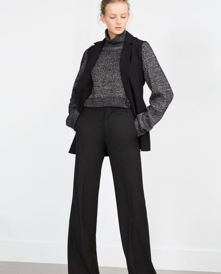 Image 2 of TAILORED TROUSERS from Zara