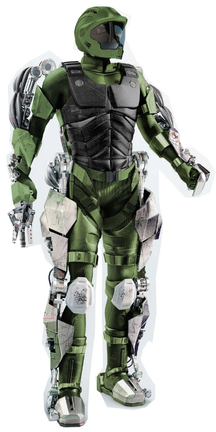 Military Exoskeleton Armor | ... : CAE: Event: Battle of the Blueprints: military exoskeleton