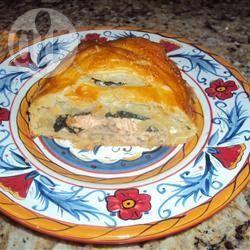 Salmon en croute @ allrecipes.co.uk