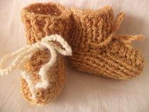 Puppenschuhe gestrickt Schuhe Socken