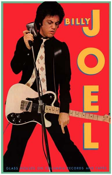 An awesome poster of Billy Joel during the Glass Houses era! He's Still (and…