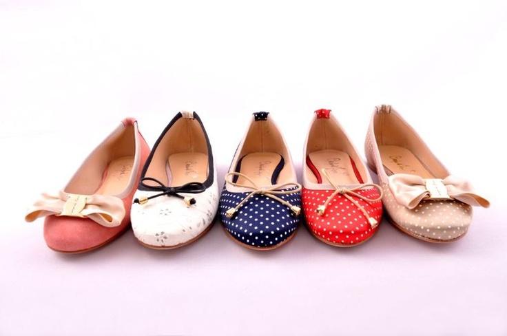 Balerínky / Ballet shoes Carollini