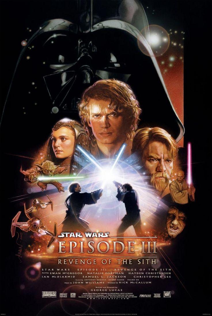 DVD CINE 2463-III - La venganza de los Sith (2005) EEUU. Dir.: George Lucas. Ciencia ficción. Aventuras. Sinopse: último capítulo da triloxía de precuelas de Star Wars, no que Anakin Skywalker definitivamente pásase á beira escura. No Episodio III aparece o xeneral Grievous, un ser implacable metade-alien metade-robot, o líder do exército separatista Droid. Os Sith son os amos ao lado escuro da Forza e os inimigos dos Jedi. Foron practicamente exterminados polos Jedi fai mil anos...